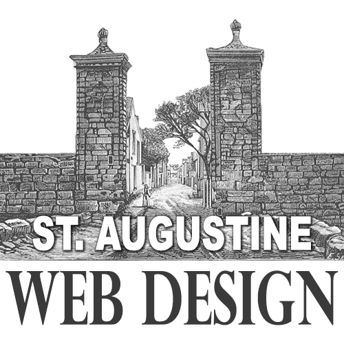 St. Augustine Web Design Logo